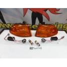 KIT Piscas frontais laranja JDM HONDA CIVIC 92-95 4 Portas Com função de mínimo e pisca USA LOOK