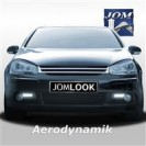 Grelha, JOM, VW Golf 5, badgeless, chrome