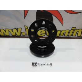 Espaçadores Japan Racing 15MM para Audi, BMW, Chrysler, Mercedes, Mini, Ssang Young 5x112 BC 66.6