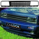 Grelha, JOM, VW Jetta 2 (3 bars), badgeless, black, approved