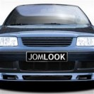 Grelha, JOM, VW Polo 4 (6N2) 99-, badgeless, black (approved)
