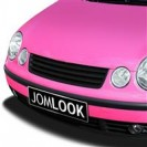 Grelha, JOM, VW Polo 9N, badgeless, black