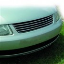 Grelha, JOM premium, VW Passat 3B 96-00, badgeless, black/chrome