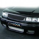 Grelha, JOM, VW Passat 35i 11/93-, badgeless, black