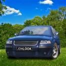 Grelha, JOM, VW Passat 3BG 00-, badgeless, completely chrome