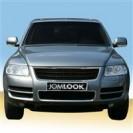 Grelha, JOM premium, VW Touareg (7L) 02-06, chromed rib edges, badgeless (before facelift)
