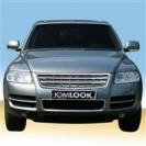 Grelha, JOM, VW Touareg (7L) 02-06, badgeless, completely chrome (before facelift)