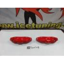 Capas de travao Brembo com tinta de alta temperatura Foliatec Vermelho Brilhante