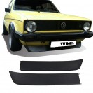 Kit Lip / Spoiler frontal Honda Civic 92-95 4 Portas Type R style ABS(plastico) - Kit.1