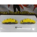 Capas de travao Brembo com tinta de alta temperatura Foliatec amarelo Brilhante