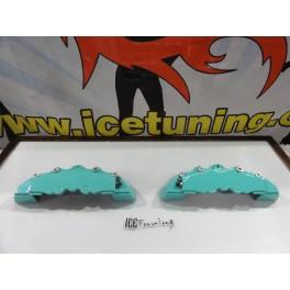 Capas de travao Brembo com tinta de alta temperatura Foliatec Azul Turquesa Brilhante