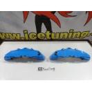 Capas de travao Brembo com tinta de alta temperatura Foliatec Azul GT Brilhante