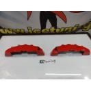 Capas de travao Brembo com tinta de alta temperatura Foliatec Vermelho Performance Brilhante