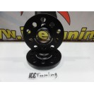 Espaçadores Japan Racing 20MM para Audi, Chevrolet, Chrysler, Seat, Skoda, VW 5x100 / 5x112 BC 57.1