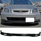 Lip / Spoiler frontal Honda Civic EK, EJ 96-98 2, 3, 4 portas Spoon style PU(plastico)