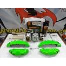 Capas Brembo + Tinta alta temperatura Foliatec Verde Tropa Mate