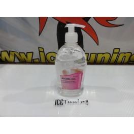 Álcool em gel desinfetante de mãos 500ml  GLOW PROFESSIONAL  (70% V/V de álcool)