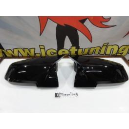 Capas, carcaça de espelhos M3 look em preto brilhante BMW F22, F23, F30, F20/F21 12-14, F31, F32, F33, F34, F36, X1 E84. E87, i3