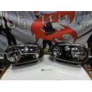 Faróis frontais fundo preto VW Golf 4 / IV