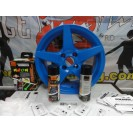 Tinta Plástica, azul neon, kit 2x400ml