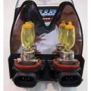 Lâmpadas H8 - 35W cor amarela