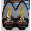 Lâmpadas H11 - 55W cor amarela