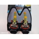 Lampadas De Halogenio De Cor Amarela H8 35W 3000k C/Garantia 6 Meses