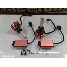 Lampadas H1 Em Led 35W Edison Lumileds 1818, 3000 Lumens 8V-48V C/2 Anos De Garantia