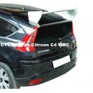 Aileron / Lip / Spoiler Traseiro Para Citroen C4 WRC C/2anos De Garantia