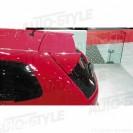Aileron / Lip / Spoiler Traseiro Para Honda Civic 01-06 3 Portas Type R Look C/2anos De Garantia