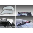 Aileron / Lip / Spoiler Traseiro Para Opel Astra H 3 Portas C/2anos De Garantia
