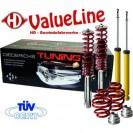 Kit de suspensão, molas/amortecedores Alfa Romeo 147 - 01/03-09/05, com certificado de inspecção técnica