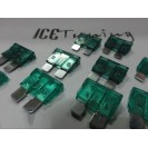 Kit 16 Fusíveis MINI-ATC