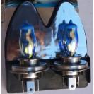 Lampadas De Halogenio Brancas HOD H4 55/60W 6500k DIAMOND BLUE C/Garantia 6meses