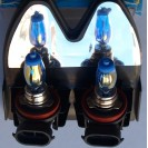 Lampadas De Halogenio Brancas HOD H8 35W 6500k DIAMOND BLUE C/Garantia 6 Meses