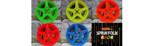 Tinta Plástica / Spray Film Neon