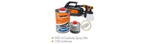000-21 Tinta de Alta Temperatura 2 componentes em spray